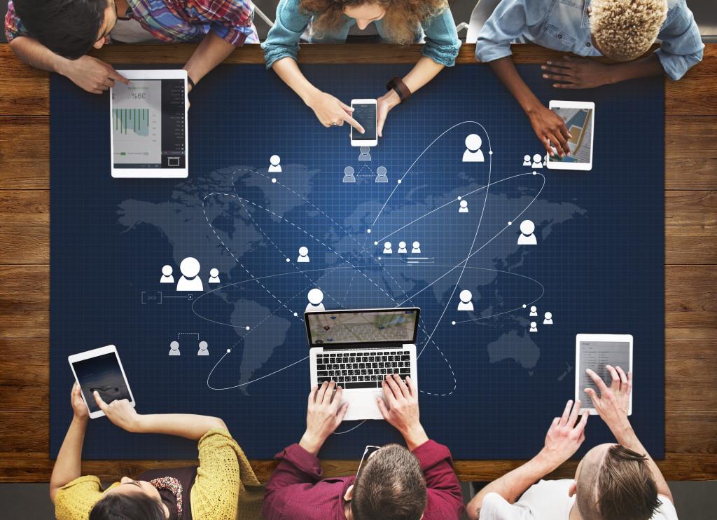 communication through the internet