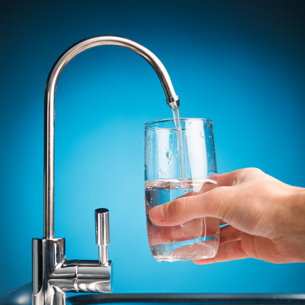 clean filtered water