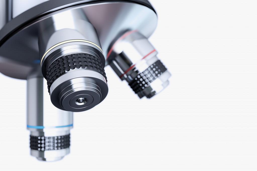 scientific microscope